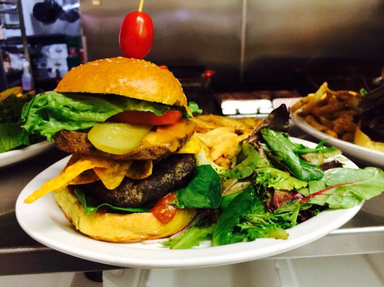 The Morgan Baskin Burger by The Lakeview Restaurant