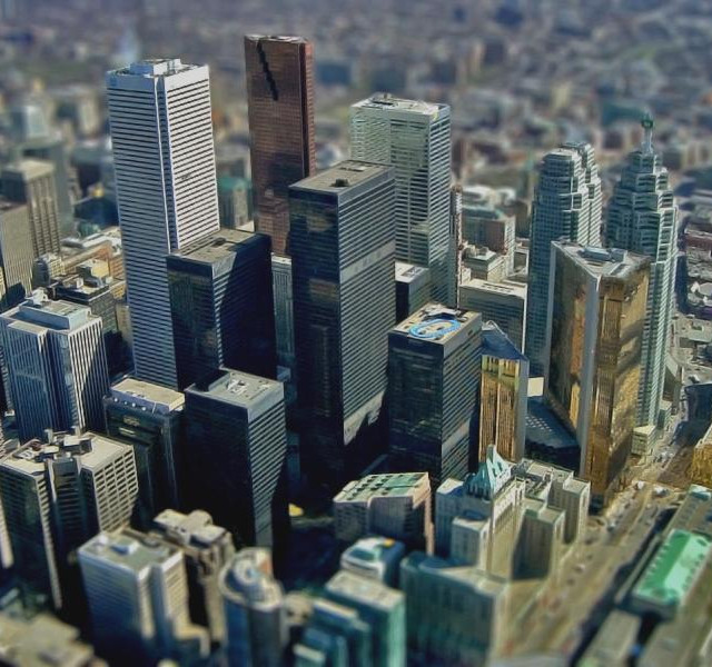 Photo of the Week: Very Small Downtown Toronto