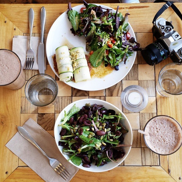 Rawlicious lunch time