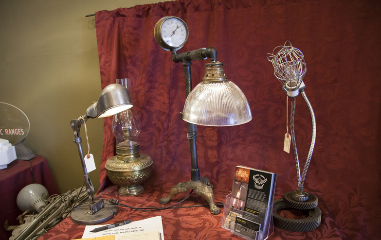 Eclectic Revival table lights