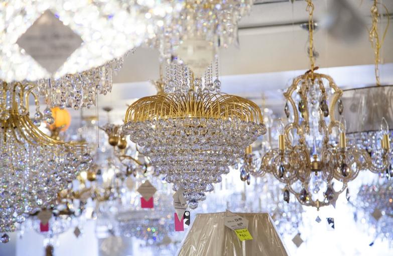 Lighting Originals crystal chandelier