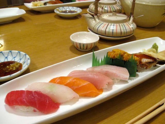Sushi Places Aoyama Sushi by Miyuki Mouse