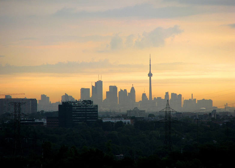 Wake Up Toronto by Adrian Berg