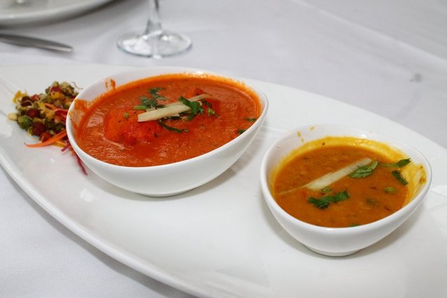 The Host Butter Chicken and Awadhi Khatti Dal by Itanni B