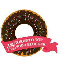 Top Food Blogger Badge 260 290