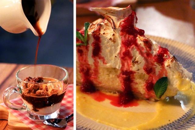 Jamies Italian dessert