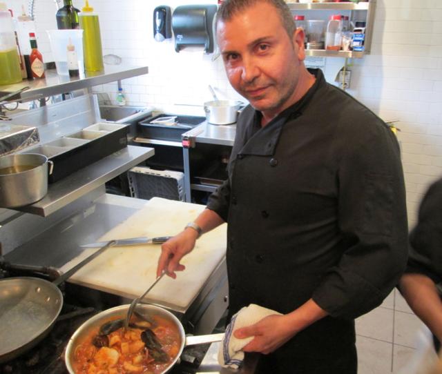 Church Aperitivo Chef Fabio