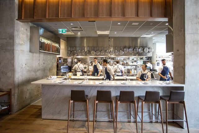 Buca Yorkville open kitchen by Insert Magazine