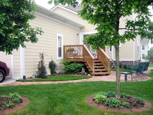Landscaped backyard by Debra Drummond