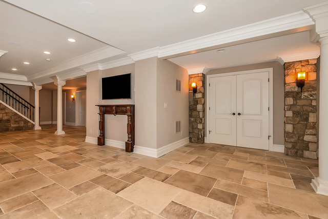 Remodeled basement by Stephen Harris