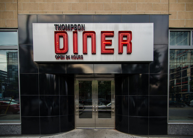 Thompson Diner by Jeff Hitchcock