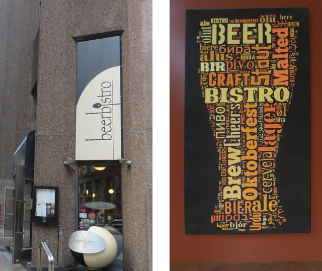 BeerBistro beer exterior interior