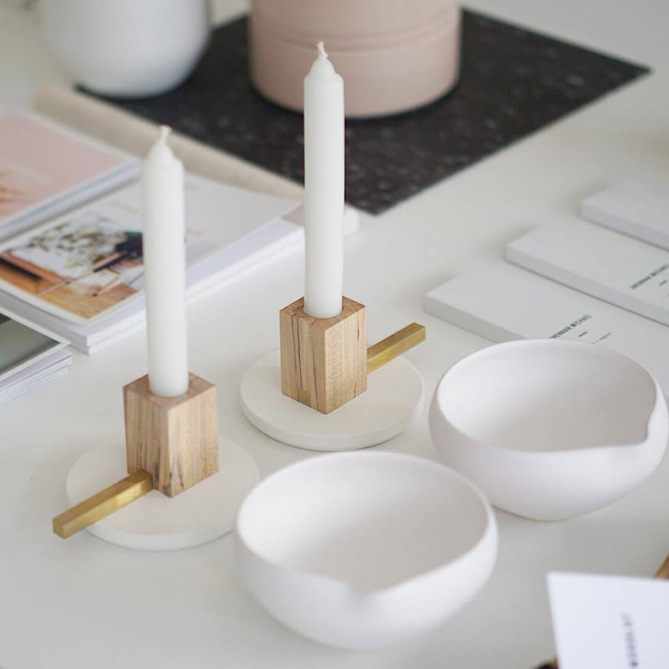 Emerson Candlesticks by Coolican & Company