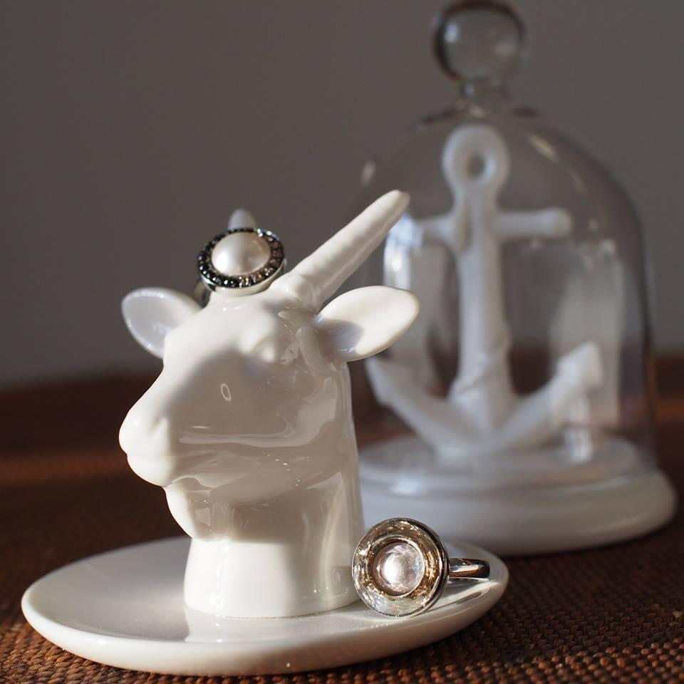 Goat Head Ring Holder by Bergo Design