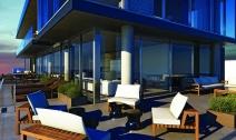 500 wellington   rendering   balcony view