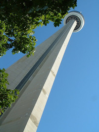 CN Tower by Daniel Claman