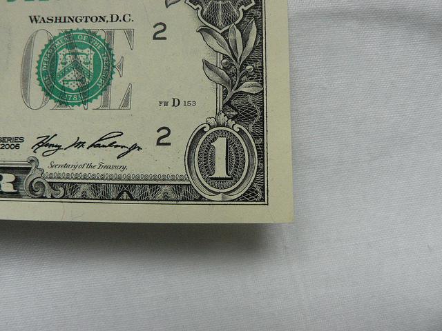 One Dollar by rychlepozicky com