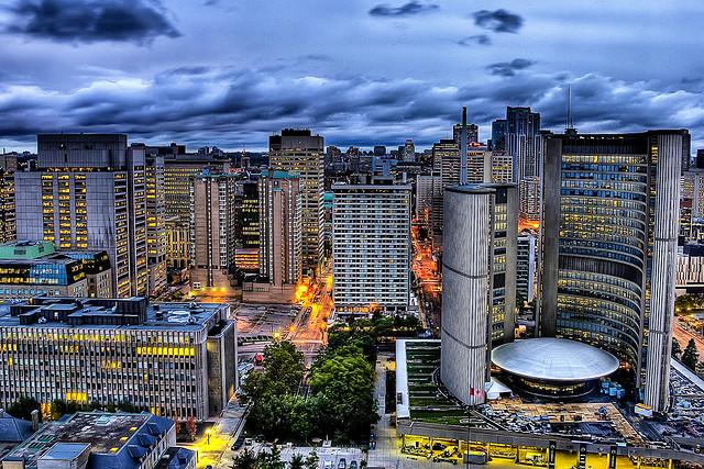 Toronto cityhall by Francizco Diezby