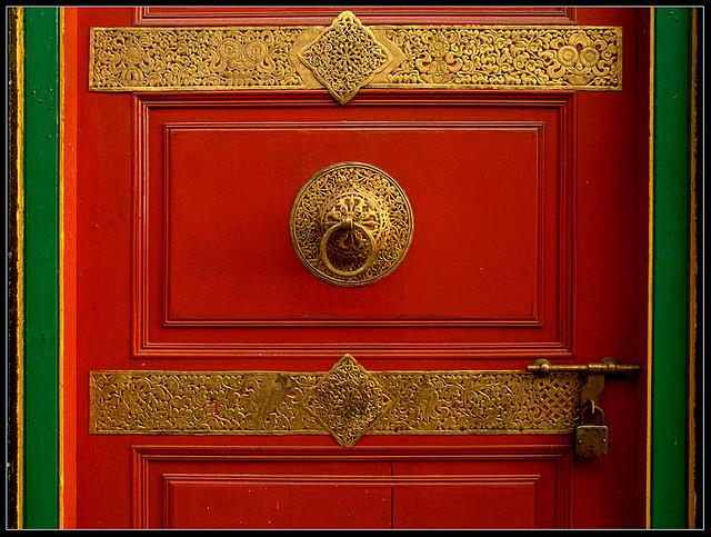 red door by Sukanto Debnath