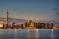 Toronto Skyline by Intiaz Rahim