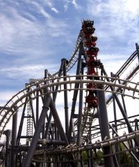 Top Guna Vekoma Suspended Looping Coaster at Canadas Wonderland by Oliver Mallich