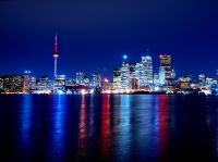 Toronto Skyline by Paul Bica