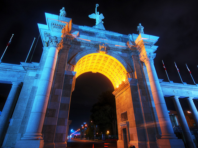 Princes Gates by paul bica