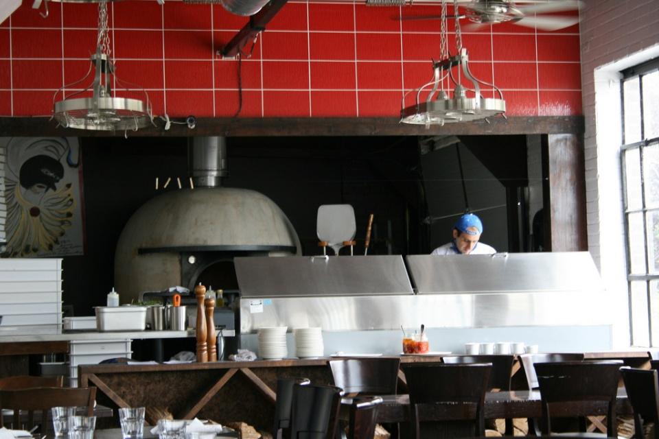 Queen Margherita Pizza Interior by Alan Bedenko