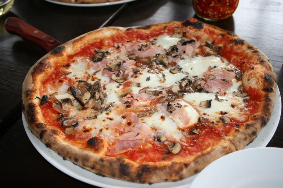 The Romolo at Queen Margherita Pizza by Alan Bedenko