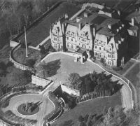 Chorley Park From the Air in circa 1930 by Wikimedia Commons