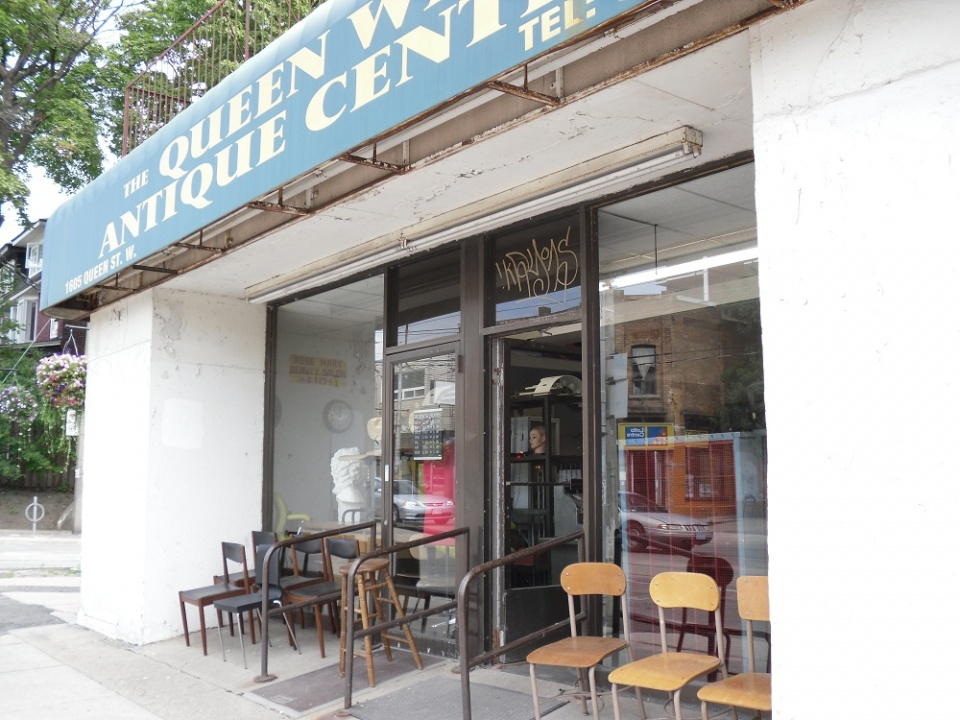 Queen West Antique Centre Front - Top 10 Antique Furniture Shops In Toronto Jamie Sarner