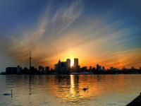 Toronto Sunset by Paul Bica