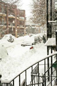 Snow street by James Everett