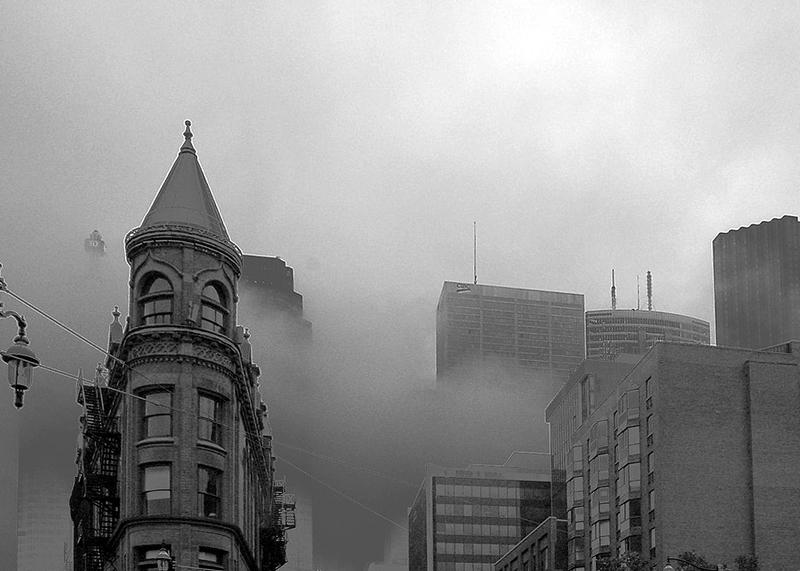 Foggy Toronto Morning by Jim Crocker