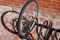 Lock the bike    by Jim Crocker
