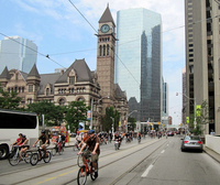 Toronto Bike Rally by James Schwartz