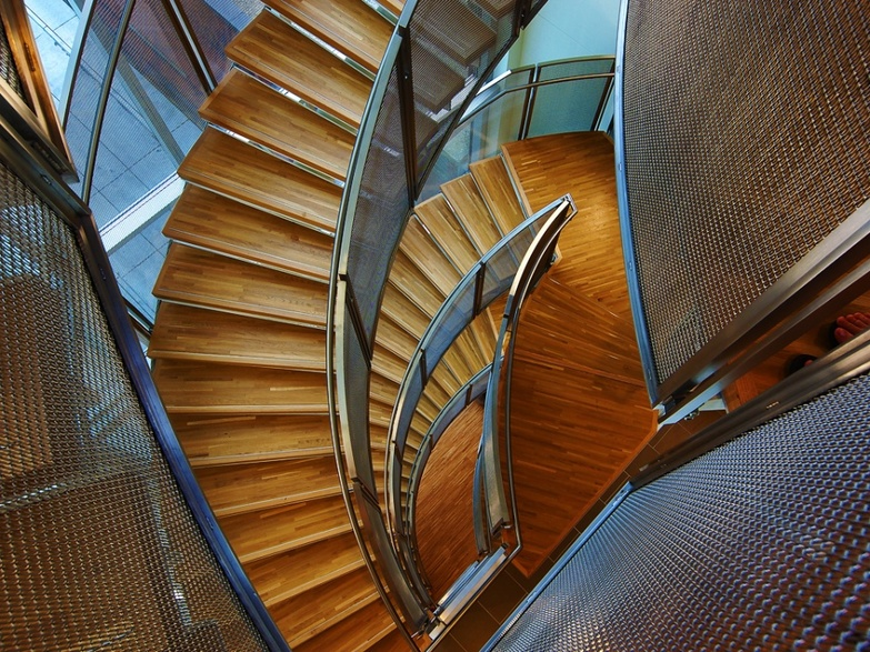 St Michael hospital staircase