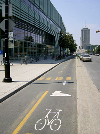 Montreal Bike Path by David