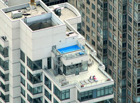 Rooftop Pool by Wikimedia Commons