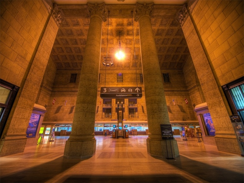 Union station hall