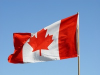 Canadian Flag by Franco Folini