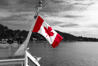 Canadian flag by Sbastien Launay