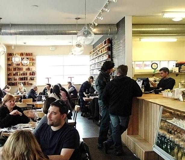 Gilead Cafe Bistro Interior