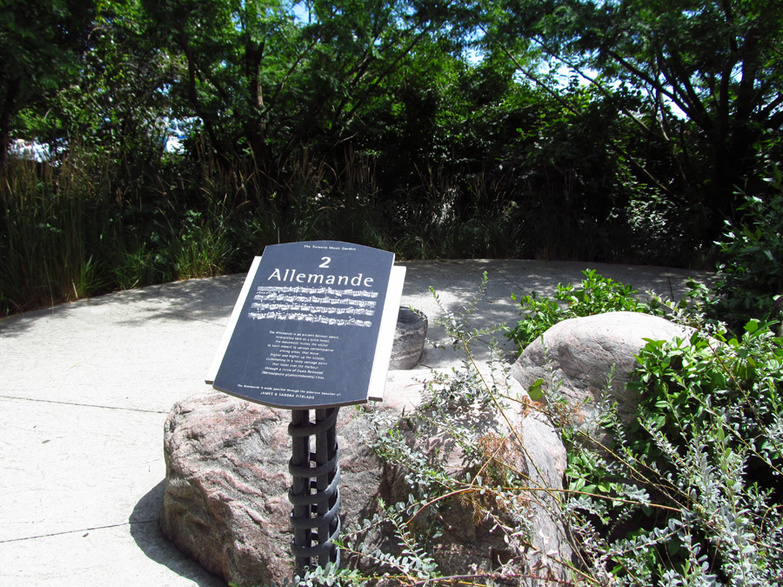 Music Garden Info Signs