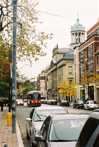 Streetcar in Toronto by Matt Kieffer