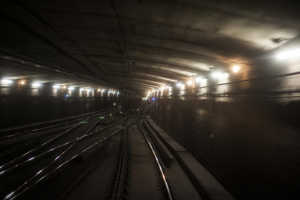A look into TTC underground train tracks