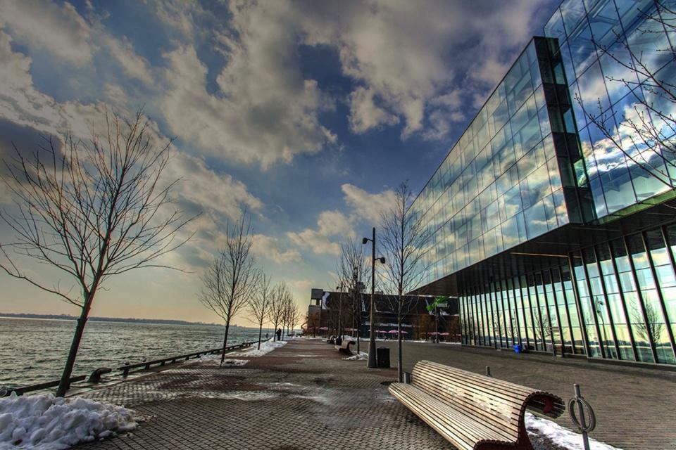 Corus Entertainment Reflection on Toronto harbour