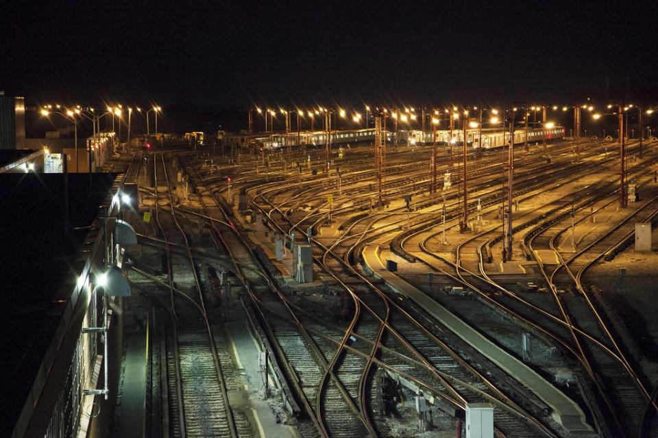 Greenwood TTC Railyard in Toronto