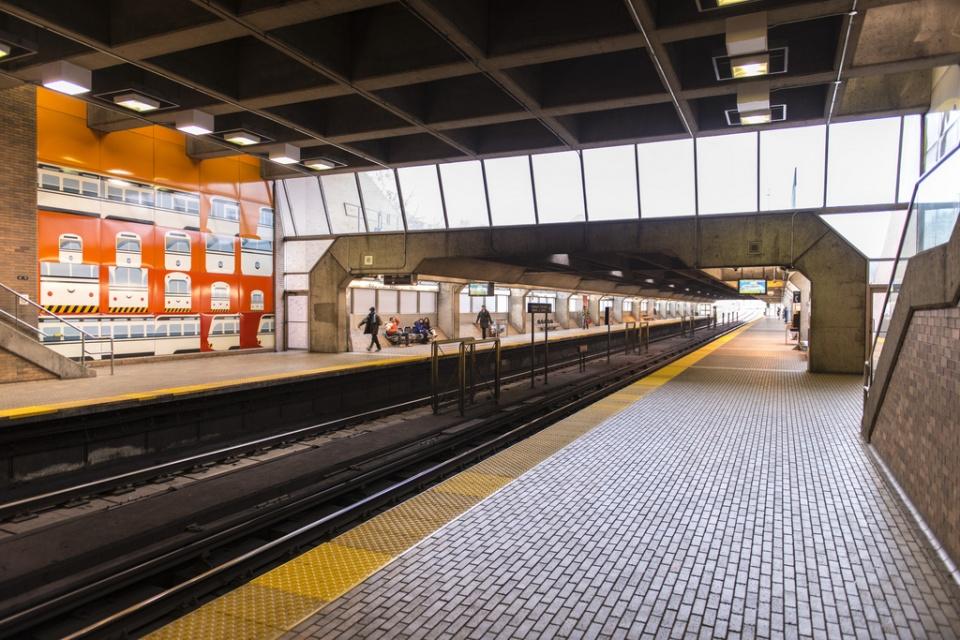 TTC Eglinton Station West in Toronto