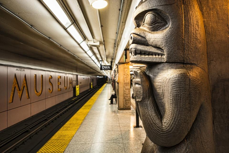 TTC Museum Station in Toronto